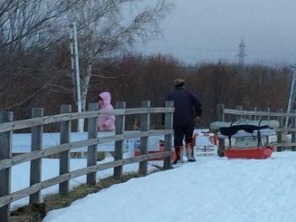 未だ雪の中発寒川にて3・13.JPG